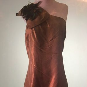 Bonjour twelve by twelve peacock Dress
